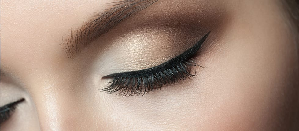 A woman who's had eyelid surgery in Reno